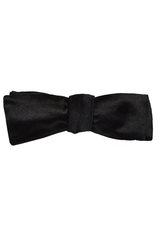 Le Noeud Papillon Skinny Black Bow Tie