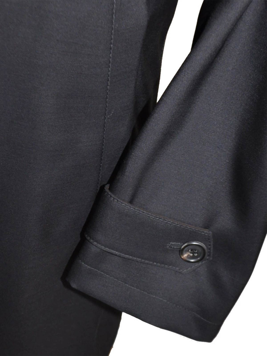 Kiton Wool Silk Coat Gray Winter Coat