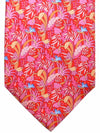Salvatore Ferragamo Tie Red Orange Sky Blue Tropical