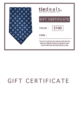 GIFT CARD $100 GIFT CERTIFICATE
