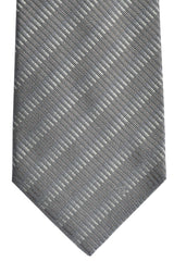 Givenchy Tie Gray Stripes SALE