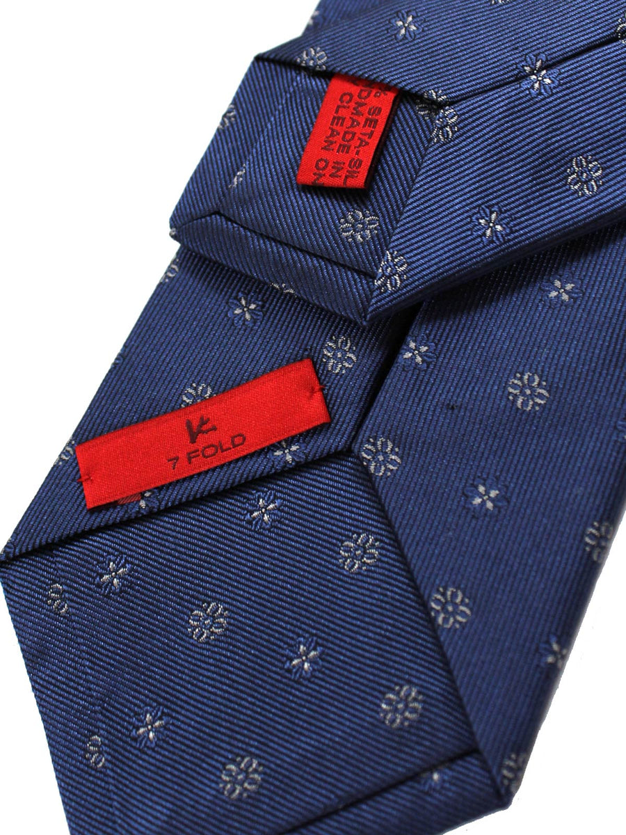 Isaia Tie Midnight Blue Narrow Cut Necktie
