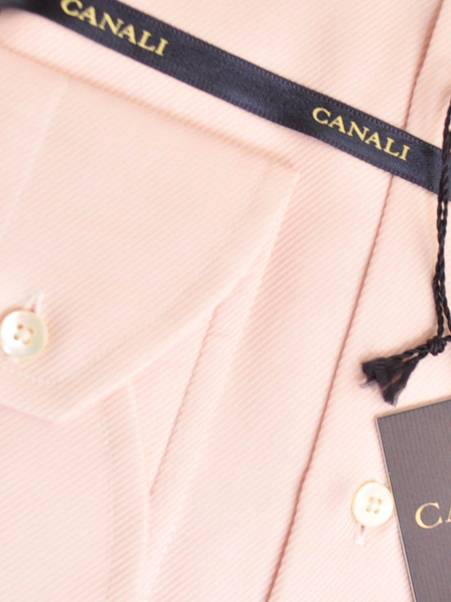 Canali Shirt Solid Pink