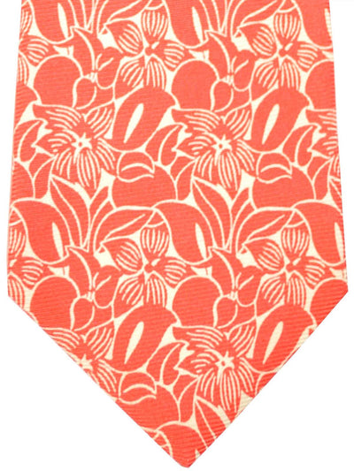 Kiton Sevenfold Tie Pink Floral FINAL SALE