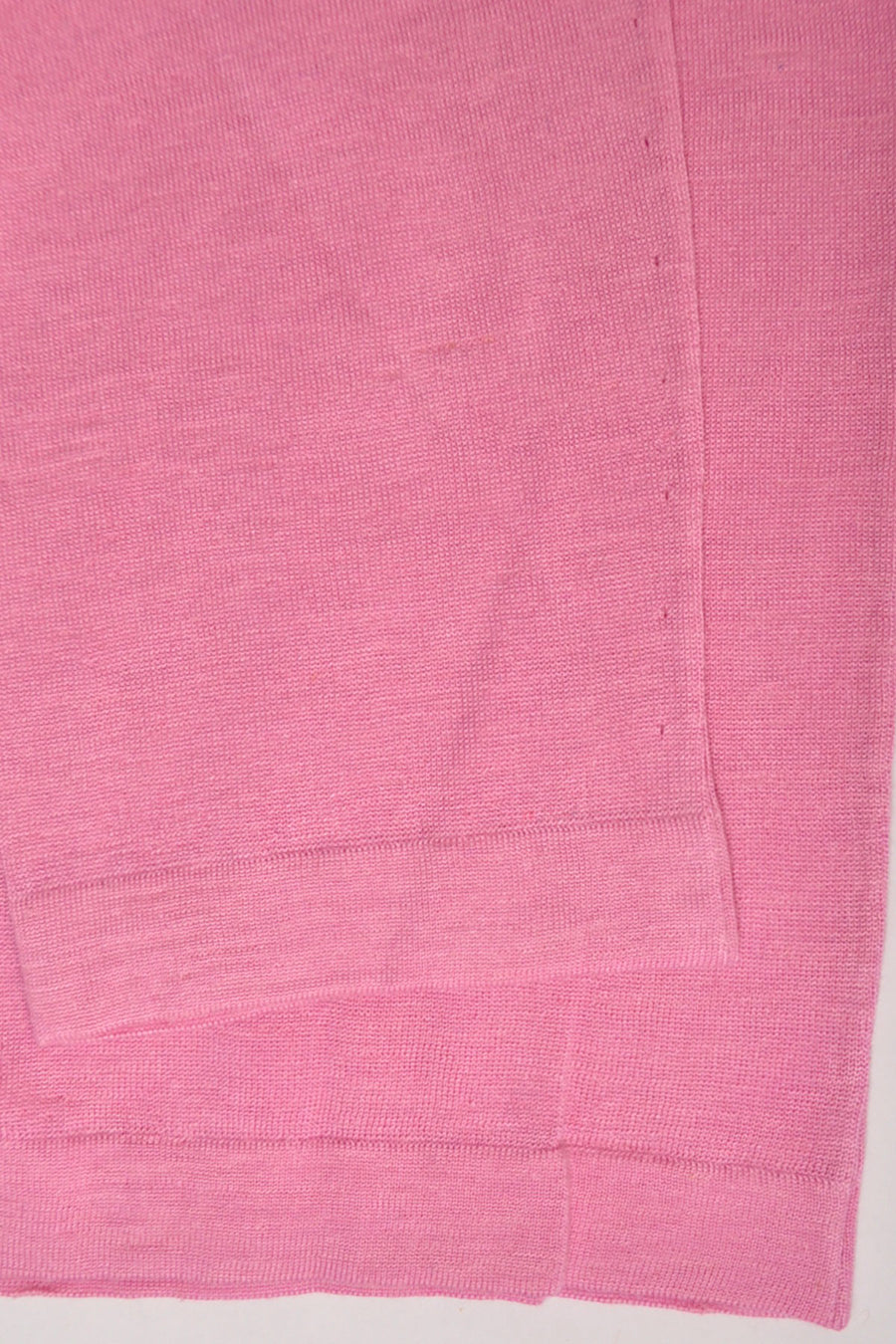 Kiton Sweater Linen Silk Light Pink Crew Neck