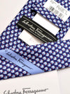 Salvatore Ferragamo Tie Navy Tops Novelty Necktie SALE