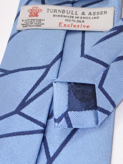 Turnbull & Asser Tie Blue Navy Design SALE