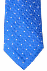 Turnbull & Asser Tie Royal Blue Dots
