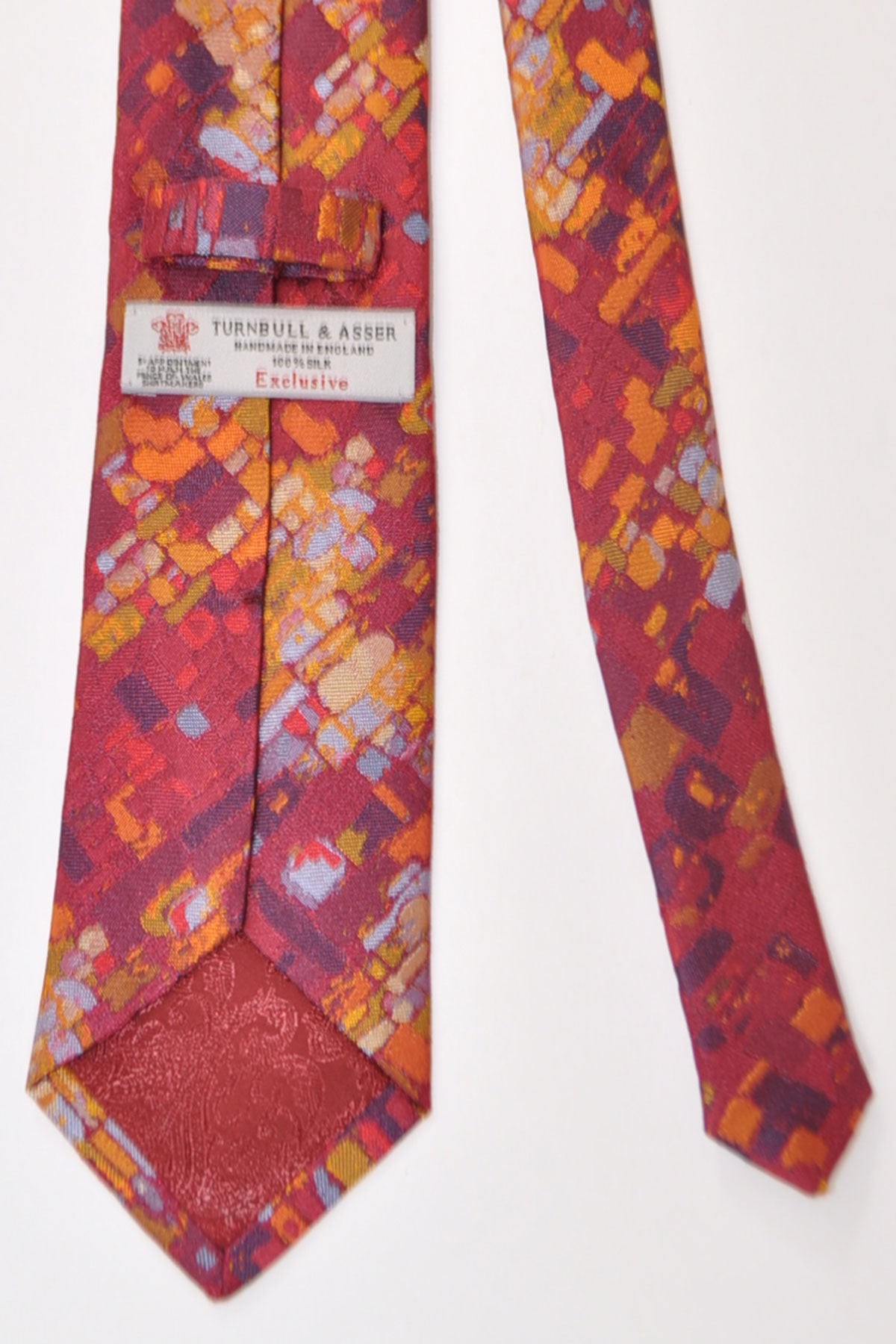 0b761f169626 Turnbull & Asser Tie Burgundy Paint Colors - Tie Deals