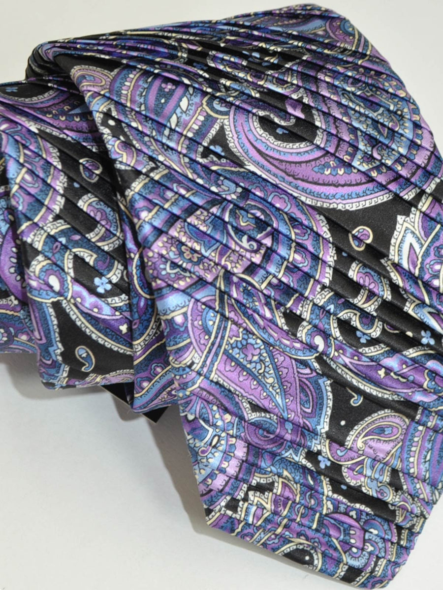 Vitaliano Pancaldi PLEATED SILK Tie