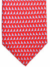 Salvatore Ferragamo Tie Red Windsurfing - 2017 Collection SALE