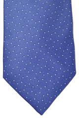 Zilli Tie Navy Blue Geometric Triangles