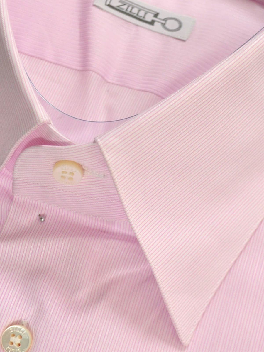 Zilli Pink Stripes Dress Shirt