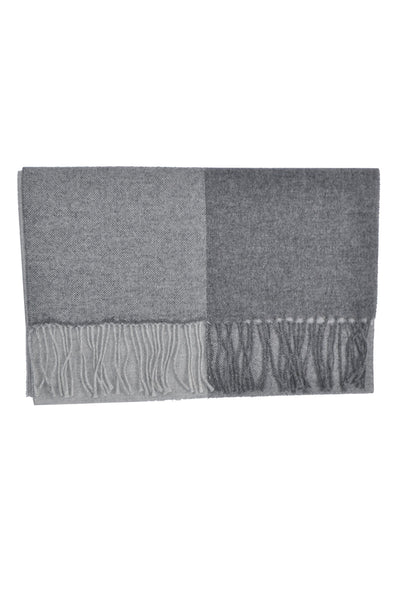 Agnona Scarf Luxurious Charcoal Gray