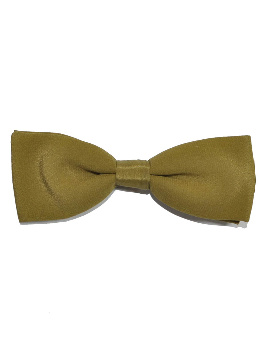 Designer Bow Tie Solid Olive - Made in Italy - FINAL SALE