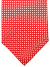 Cesare Attolini Tie Red White Geometric
