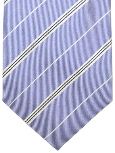 Attolini Silk Tie Lilac Stripes