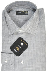 Barba Sport Shirt Gray Stripe