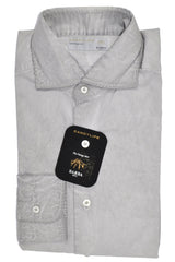 Barba Sport Shirt Gray Wash 39 - 15 1/2 FINAL SALE