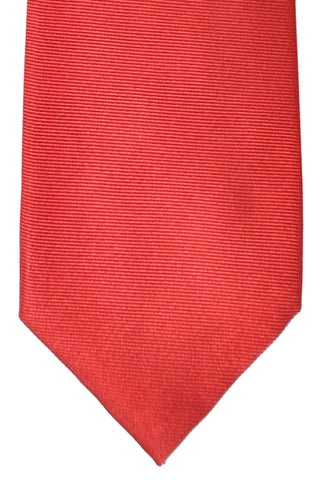 Barba Sevenfold Tie Dark Red Grosgrain