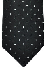 Barba Sevenfold Tie Black Silver