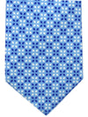 Battistoni Silk Tie Blue Design - SALE