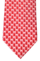 Battistoni Tie Red Crab