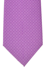Battistoni Tie Purple Geometric