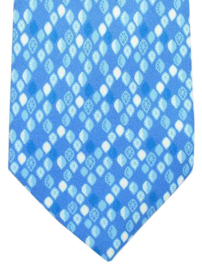 Battistoni Tie Blue Lemons Design - 2018 Collection