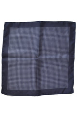 Battisti Pocket Square Purple Geometric