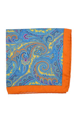 Battisti Silk Pocket Square Ornamental Design