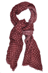 Battisti Wool Scarf Burgundy SALE