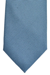 Battisti 7 Fold Tie Blue Navy Geometric