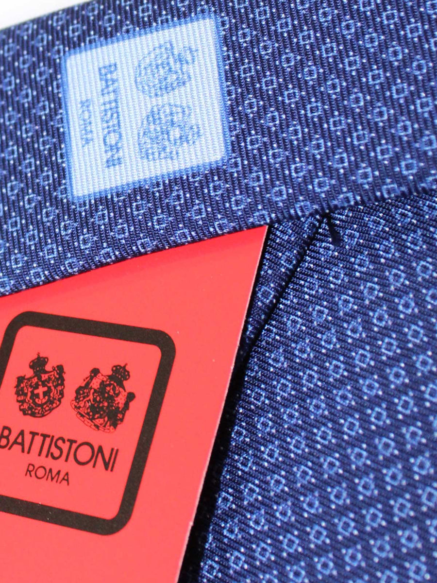 Battistoni Tie Navy Blue