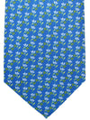 Battistoni Tie Blue Floral Novelty Design