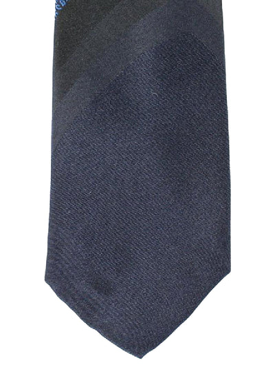Bikkembergs Tie Dark Blue Black Design