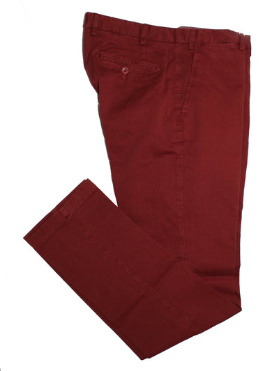 Luigi Borrelli Pants Bordeaux