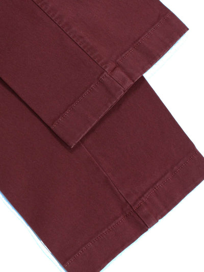 Luigi Borrelli Pants Bordeaux New