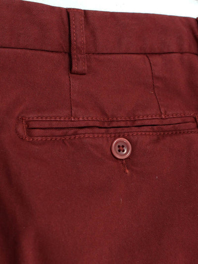 Borrelli Pants Bordeaux