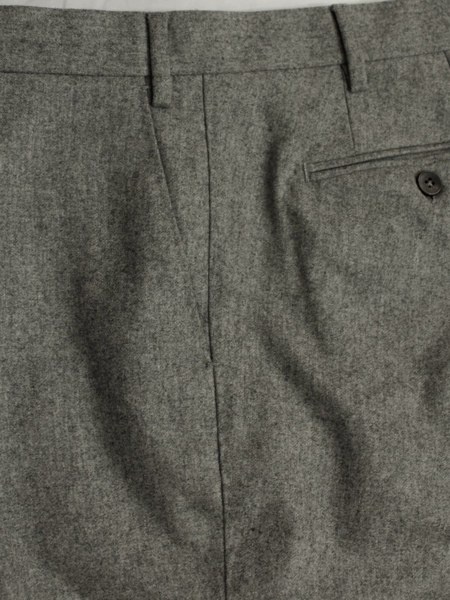 Luigi Borrelli Dress Pants Charcoal Gray Wool 30 (Eur 46)