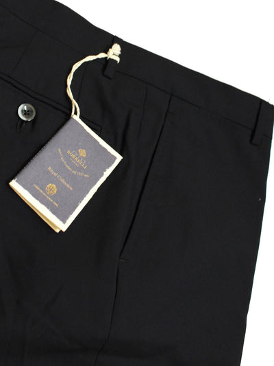 Luigi Borrelli Dress Pants Navy Wool ROYAL COLLECTION Slim Fit 30 (EUR 46)