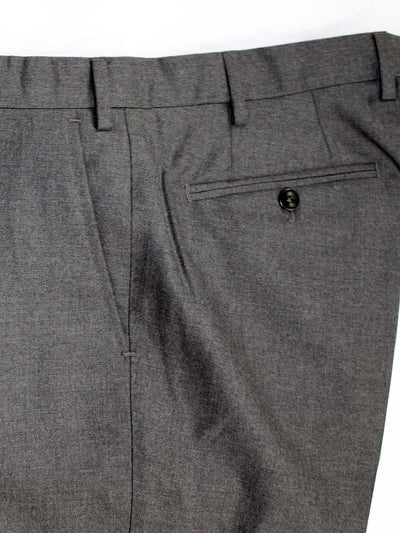 Luigi Borrelli Dress Pants Charcoal Gray Wool 33 (Eur 50) SALE