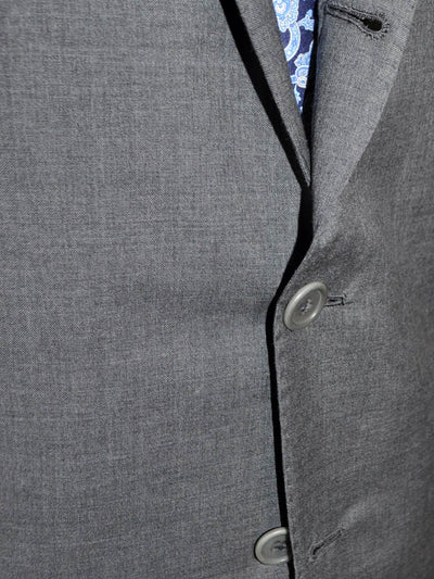 Luigi Borrelli Sport Coat Gray ROYAL COLLECTION Wool Blazer