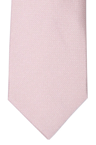 Luigi Borrelli Sevenfold Tie ROYAL COLLECTION Light Pink