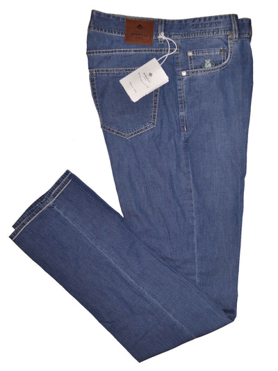 Luigi Borrelli Jeans Medium Denim Blue