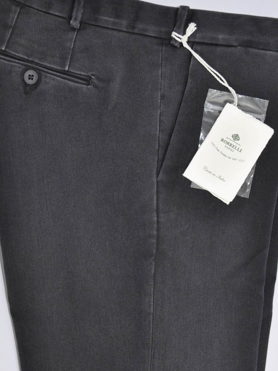 Luigi Borrelli Pants Gray Trousers Slim Fit