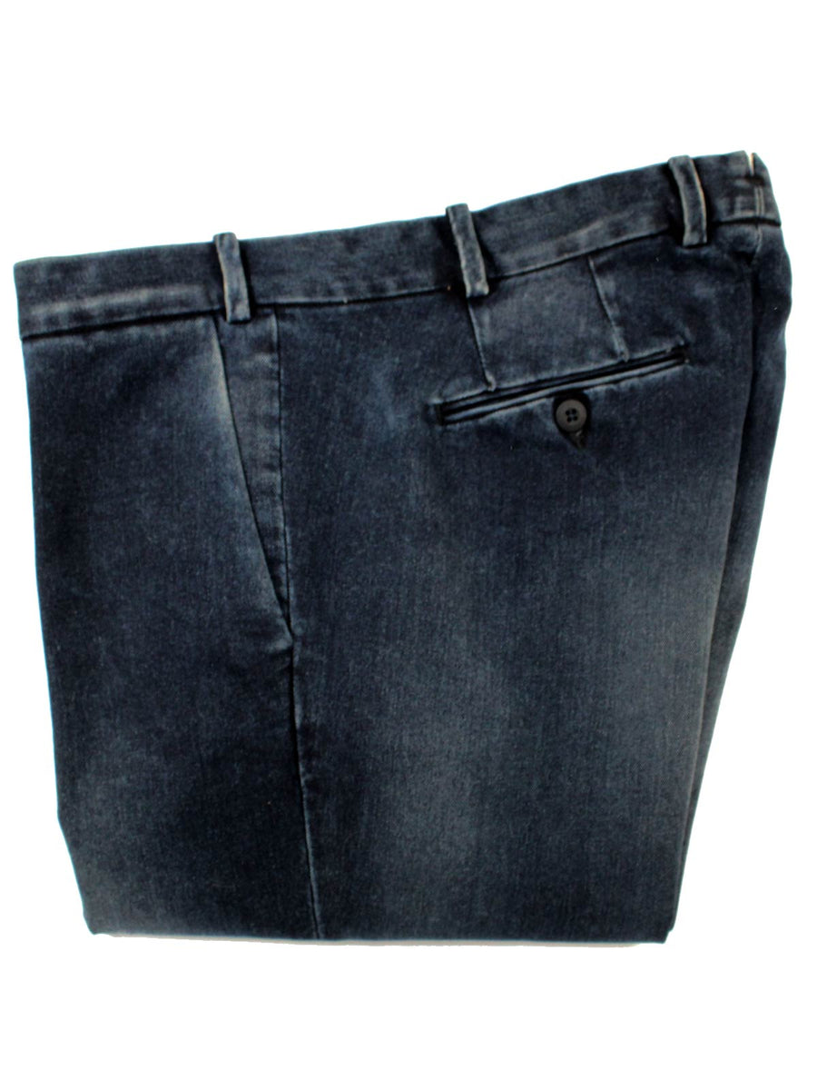 Luigi Borrelli Denim Pants Dark Blue Slim Fit