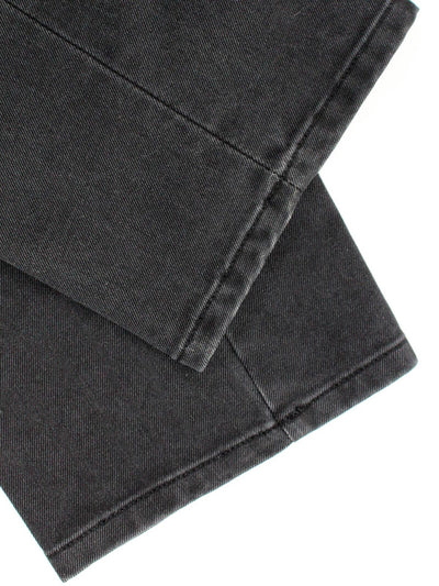 Luigi Borrelli Pants Charcoal Gray Slim Fit 32 Casual Trousers