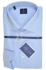 Luigi Borrelli Shirt Royal Collection Blue