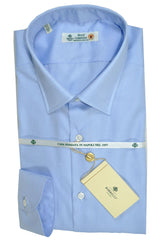 Luigi Borrelli Shirt Royal Collection Sky Blue